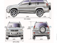 Toyota Land Cruiser Prado 120 photo