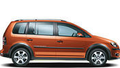 Краш-тесты Volkswagen Cross Touran 2008