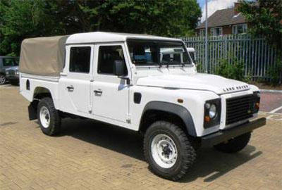 Land Rover Defender 130 2012
