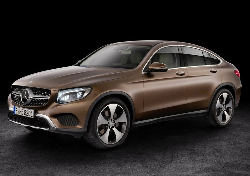 Mercedes-Benz GLC Coupe 2015