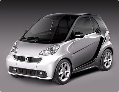 Smart fortwo coupe 2011