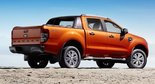 Ford Ranger Wildtrak (Форд Рейнджер Вилдтрак) (вид сзади)