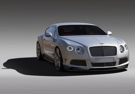 Обновленный Bentley Continental GT(Бентли Континентал GT)